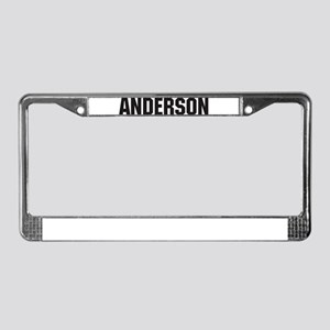 Anderson, Indiana License Plate Frame