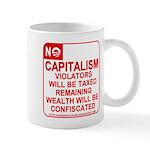 No Capitalism Mug