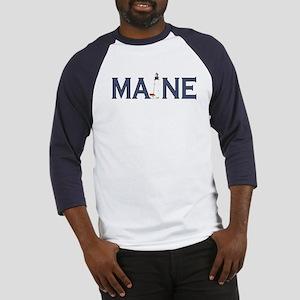 Maine Lighthouse Baseball Jersey
