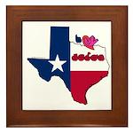 ILY Texas Framed Tile