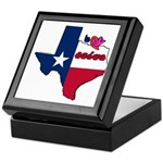 ILY Texas Keepsake Box
