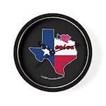 ILY Texas Wall Clock