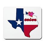 ILY Texas Mousepad