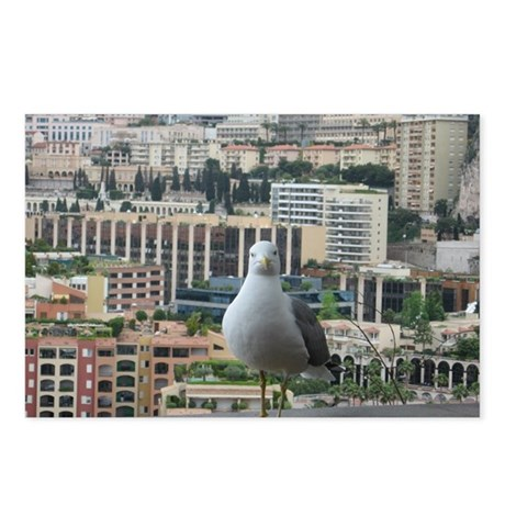 Monaco Gull Postcards (Package of 8)
