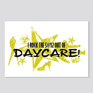 I ROCK THE S#%! - DAYCARE Postcards (Package of 8)