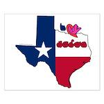ILY Texas Small Poster