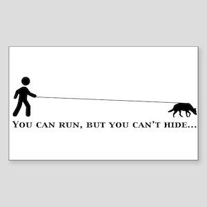 Mountain Dog Gear Sticker (Rectangle)