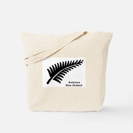 New Zealand (Fern) Tote Bag