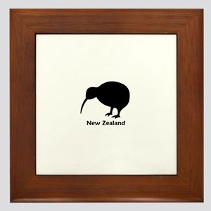 New Zealand (Kiwi) Framed Tile