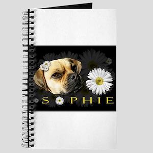 Sopie Puggle Black Journal