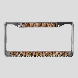 Bengal Tiger License Plate Frame