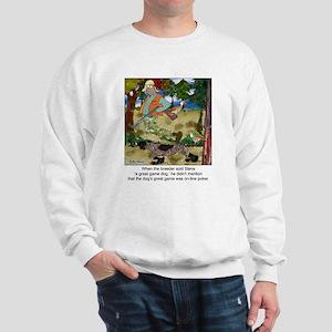 Game Dog Loves Online Poker Sweatshirt