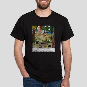 Game Dog Loves Online Poker Dark T-Shirt