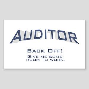 Auditor - Work Sticker (Rectangle)