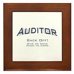 Auditor - Work Framed Tile