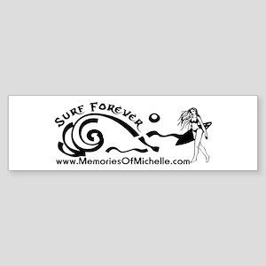 Surf Forever Bumper Sticker