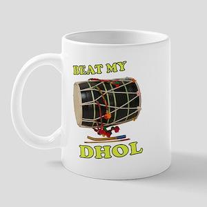 Beat my Dhol Mug