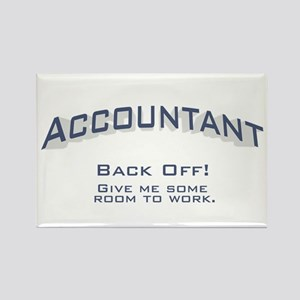 Accountant - Work Rectangle Magnet