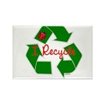 I Recycle Rectangle Magnet (100 pack)