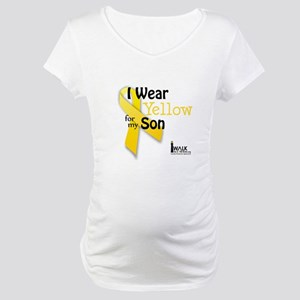 Yellow for Son Maternity T-Shirt