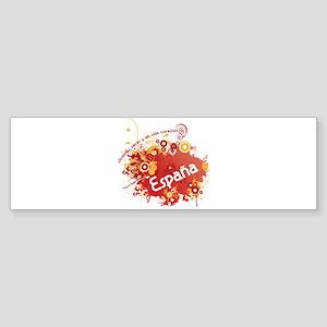 ESPAÑA Sticker (Bumper)