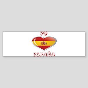 YO C ESPANA 0 Bumper Sticker
