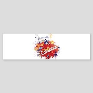 COLOMBIA RETRO Sticker (Bumper)