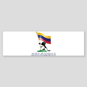 COLOMBIA BAND Sticker (Bumper)
