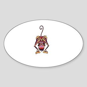 jackscht Sticker (Oval)