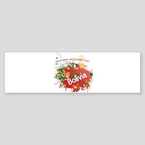 bolivia retro Sticker (Bumper)