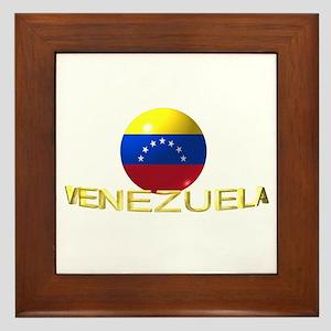 venezuela Framed Tile