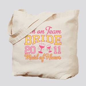 Champage Maid of Honor Tote Bag
