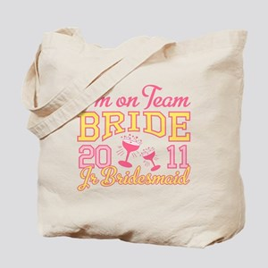 Champagne Jr Bridesmaid Tote Bag