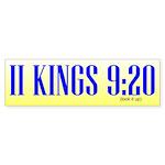 2Kings-Sticker-Bump-10.5x3 Bumper Sticker