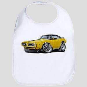 Charger Yellow-Black Top Car Bib