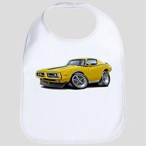 1971-72 Charger Yellow-Black Car Bib