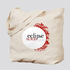 Red Eclipse Tote Bag