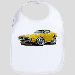 1971-72 Charger Yellow Car Bib