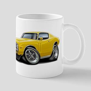 1971-72 Charger Yellow Car Mug