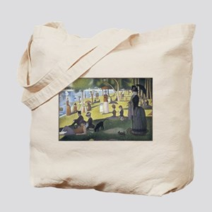 Island of La Grande Jatte Tote Bag