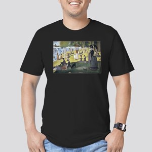 Island of La Grande Jatte Men's Fitted T-Shirt (da