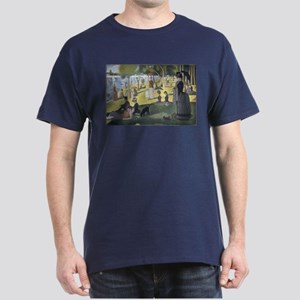 Island of La Grande Jatte Dark T-Shirt