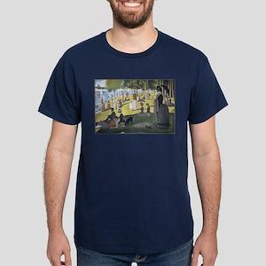 Island of La Grande Jatte Dark T-Shirt