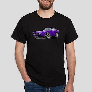 1971-72 Charger Purple Car Dark T-Shirt