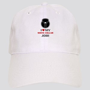 White Collar Cap