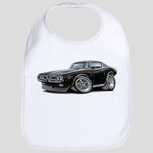 1971-72 Charger Black Car Bib