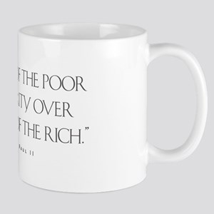 The Needs of the poor Mug