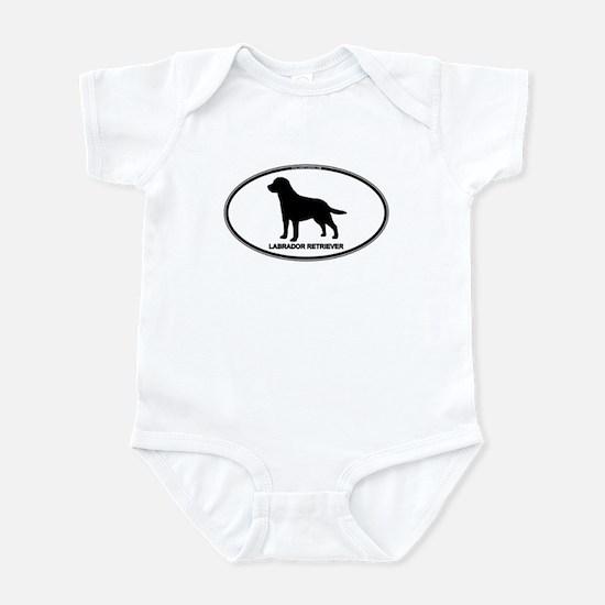 Lab Euro Oval Infant Bodysuit