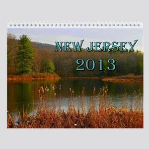Scenic New Jersey 2013 Wall Calendar