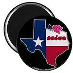 ILY Texas Magnet